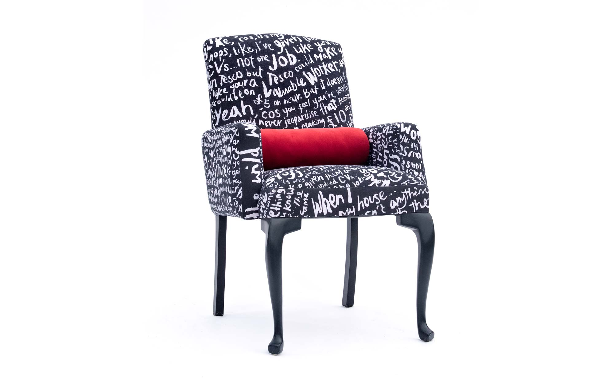 lorraine osborne. reading the riot desk chair