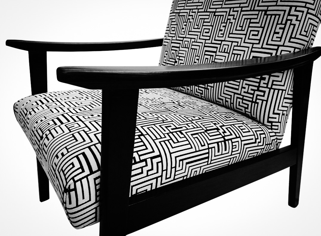 Black And White Telly Chairs Lorraine Osborne